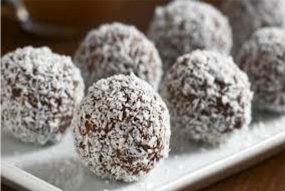 Apple & Coconut Bliss Balls