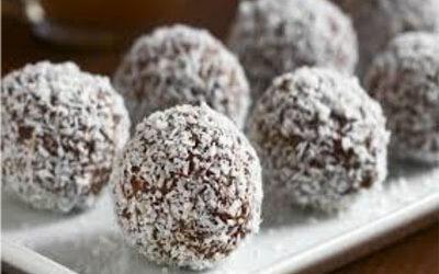 Apple & Coconut Bliss Balls
