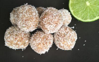 Coconut Lime Bliss Balls (makes 25)