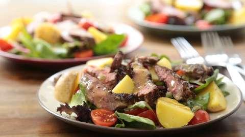 Balsamic Beef & Potato Salad    (Serves 2)
